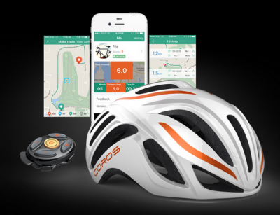 smart cycling helmet with headphones