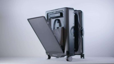 smart suitcase by CowaRobot