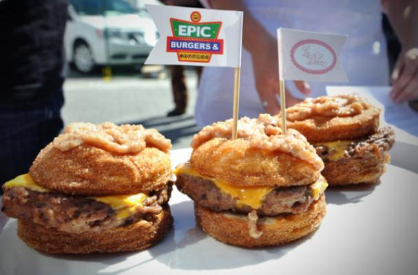 a definite food to avoid - the cronut burger