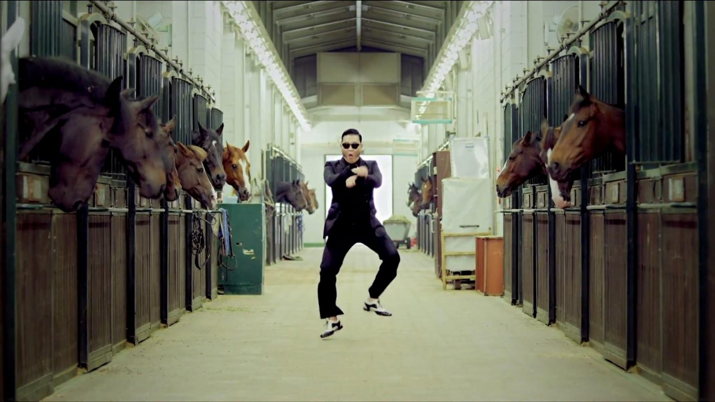 a Gangnam Style startup scam