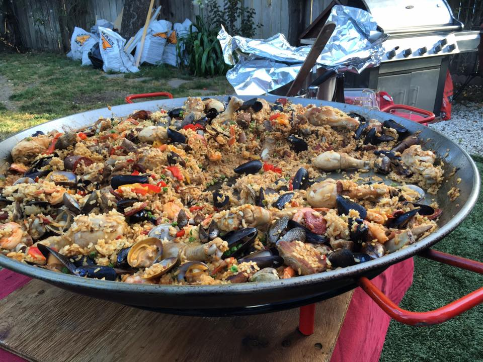 paella from Josphine home cooked meal sharing service