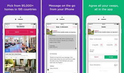 home swap app screenshot
