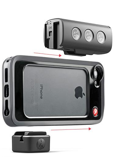 Klyp+ smartphone camera lens system