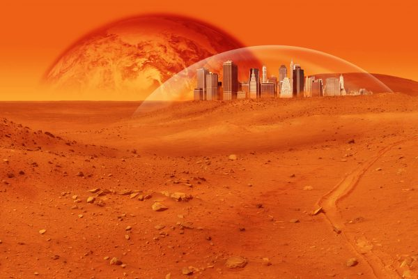 Mars colony prototype