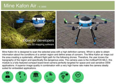 mine kafon air drone snapmunk