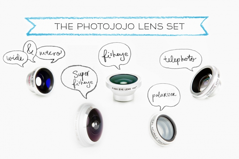 Photojojo smartphone camera lenses