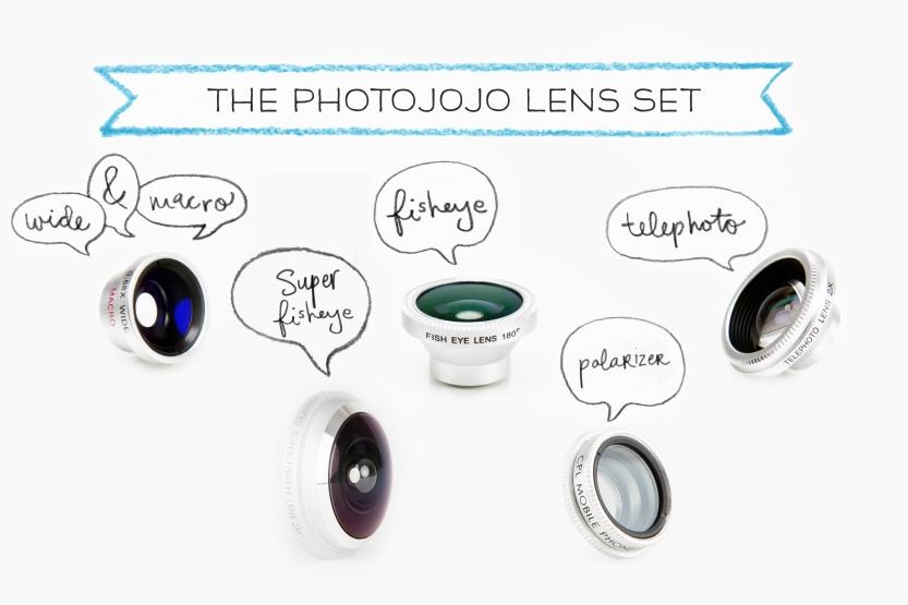 Photojojo smartphone camera lenses