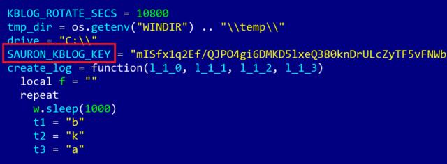 ProjectSauron malware in code