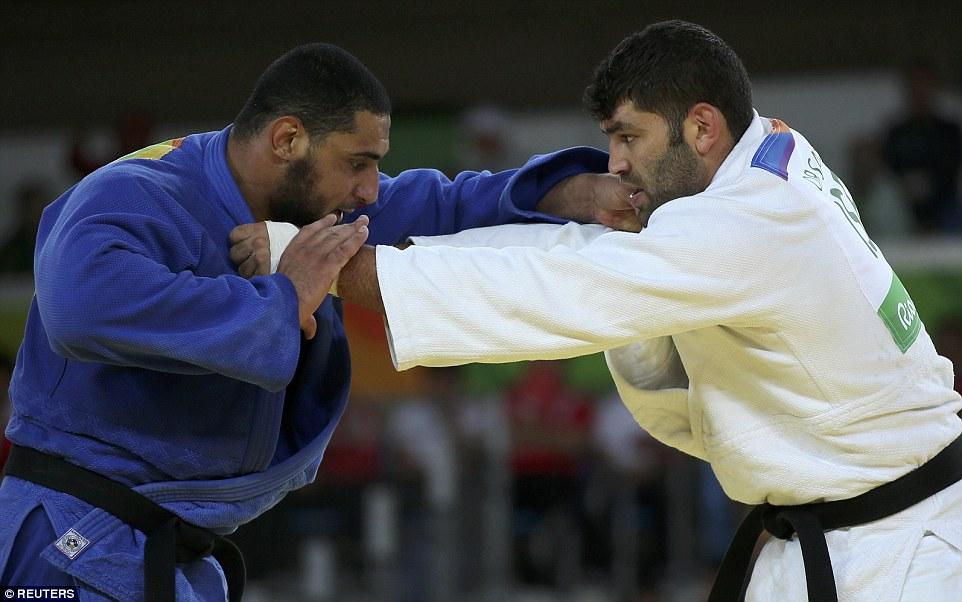 Rio Olympis Israeli Joduko fighter