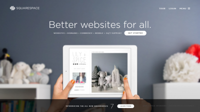 squarespace screen