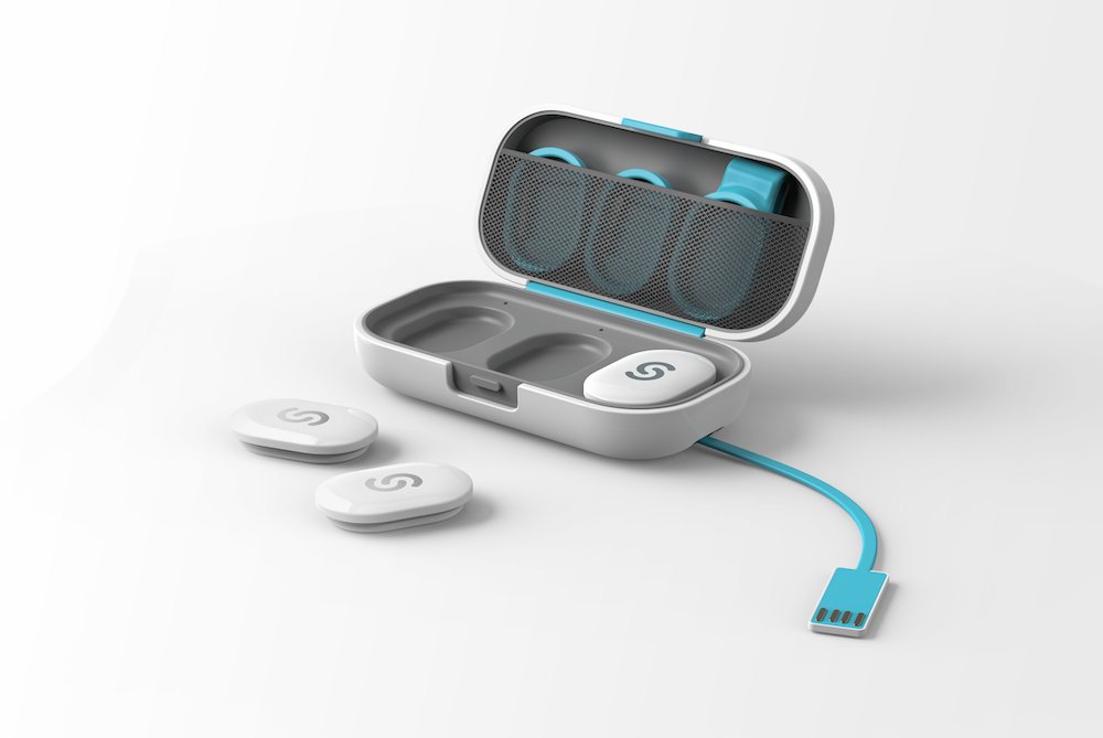 STEPP fitness wearable clip-ons
