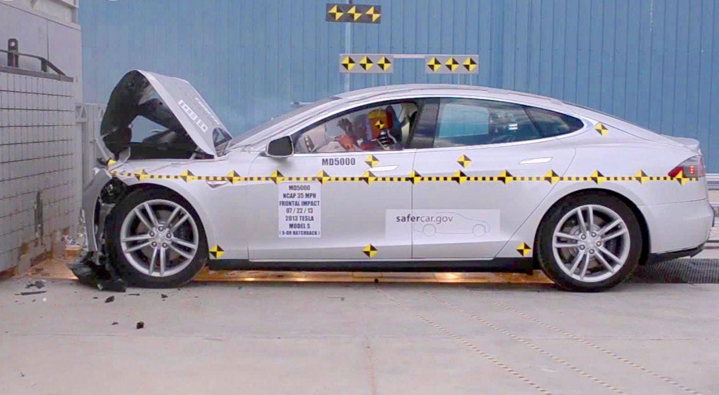 Tesla autopilot accident testing