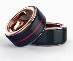 The Touch heartbeat ring