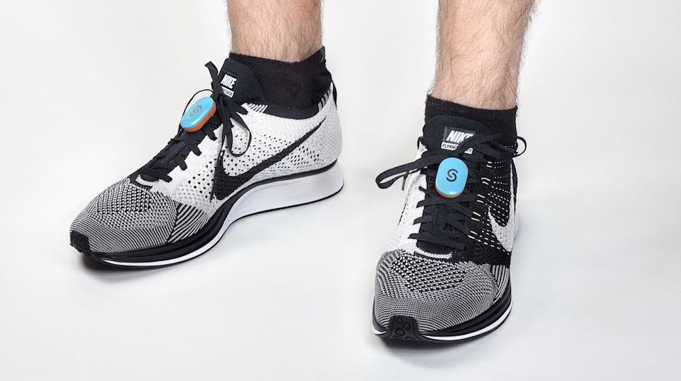 STEPP fitness wearable on shoes