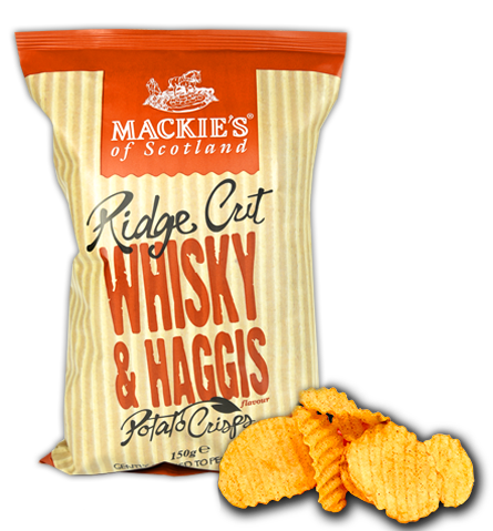 foods to avoid include these whiskey haggis potato chips
