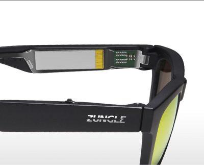 zungle bone conduction headphone sunglasses
