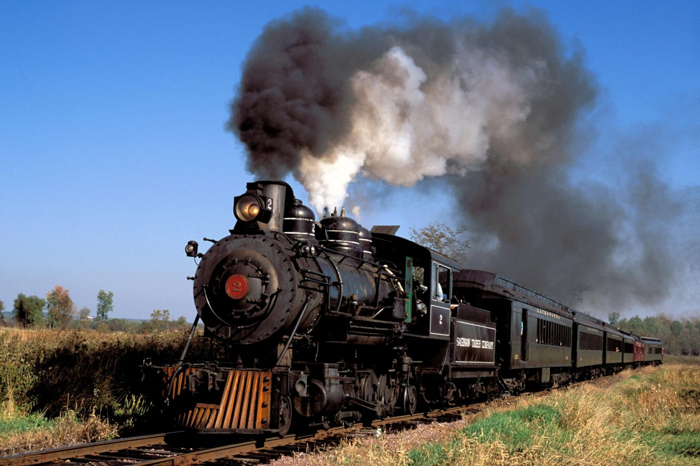 railroad steam engine