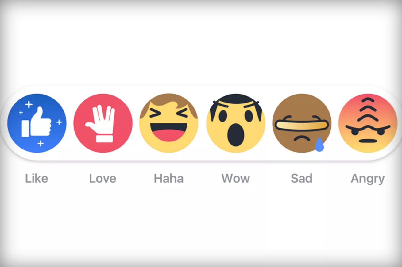 Facebook's Star Trek like buttons