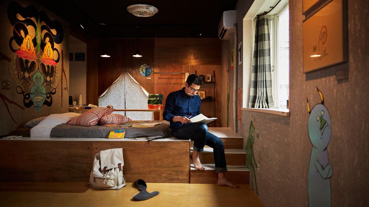 Airbnb loft rental in Tokyo