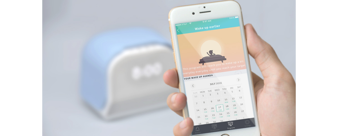 Kello alarm clock app's snooze feature