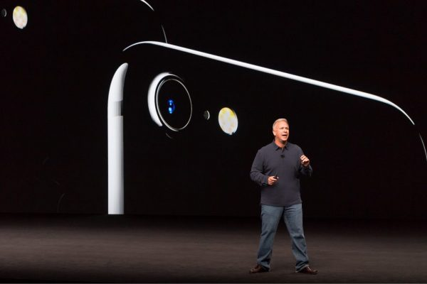 iPhone 7 announcement at the Apple event of September 2016