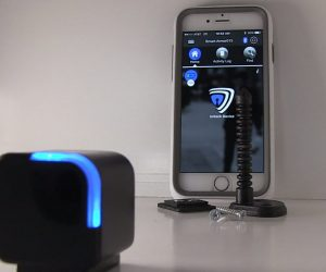 "This ""Attach-to-Anything"" Bluetooth Lock May Keep Your Kids Out Of The Liquor Cabinet"