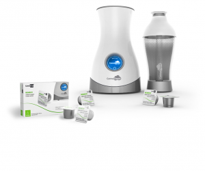 the cannabis vaporizer CannaCloud is like a Keurig for cannabis