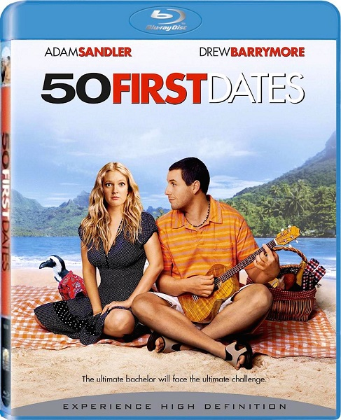 Fifty First Dates blu-ray