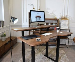 Is This Connected Auto-Adjusting Health-Conscious Standing Desk The Smartest Office Furniture Ever?
