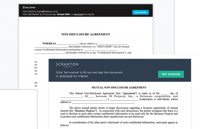 hellosign esignatures whitelabelling and API
