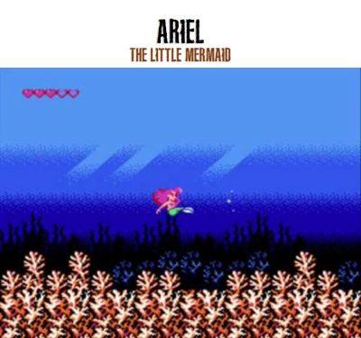 ariel little mermaid video game