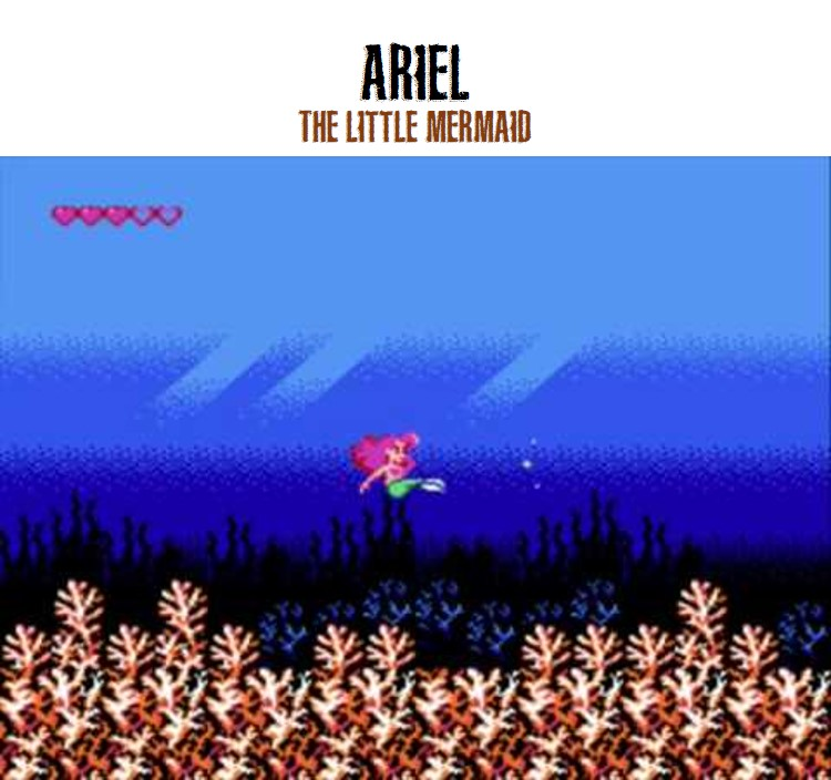 Ariel from the Little Mermaid video game