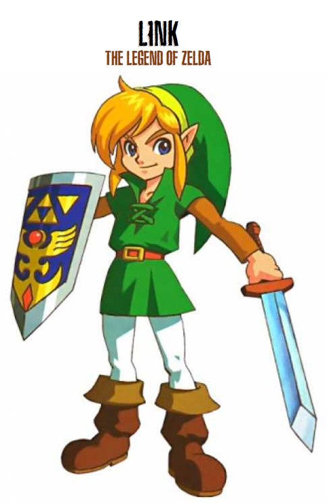 Link from the Legend of Zelda video game