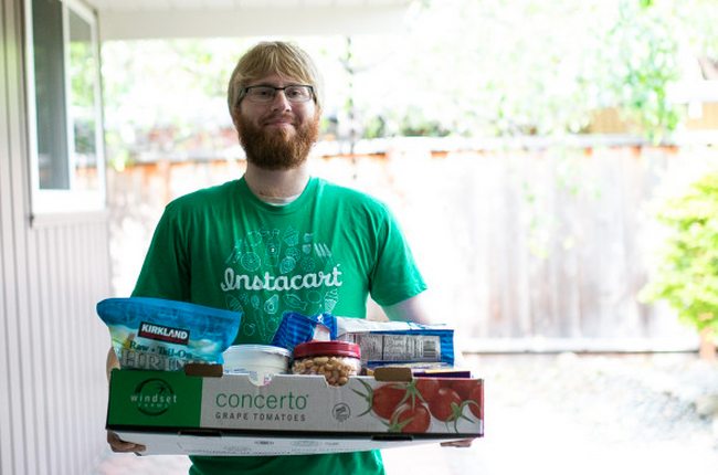 Instacart professional shopper