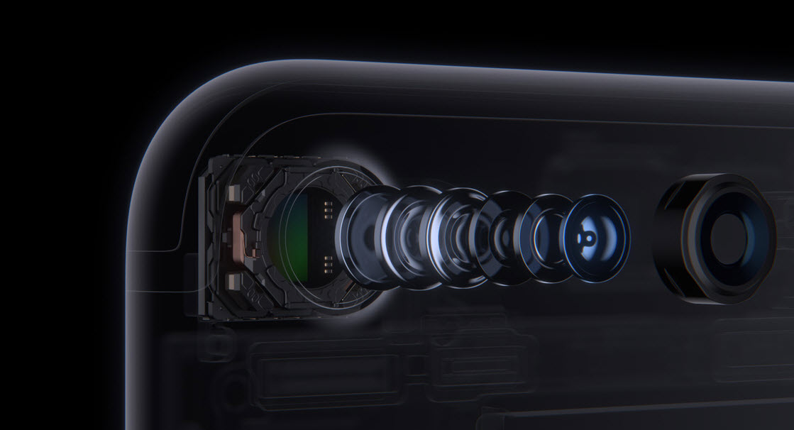 announced at the Apple event, the iPhone7 camera lens