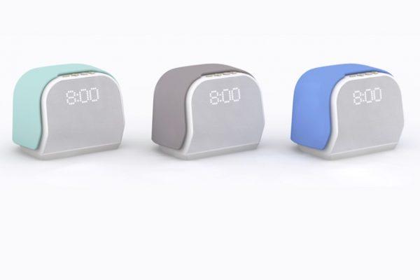 Kello smart alarm clocks in a variety of colors