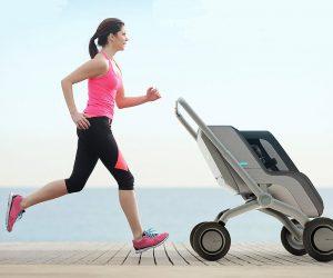 smartbe smart stroller self-driving stroller