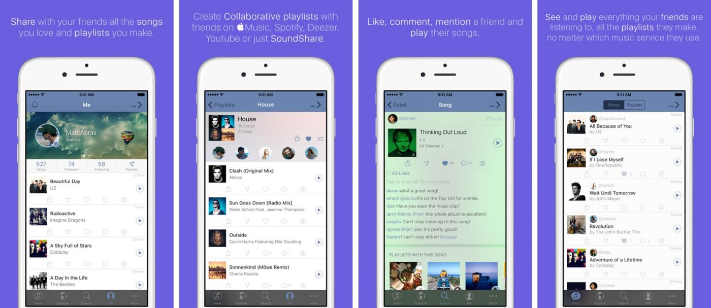 SoundShare music social network