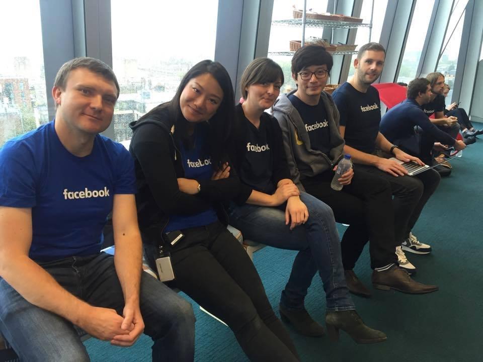 Facebook trending news team