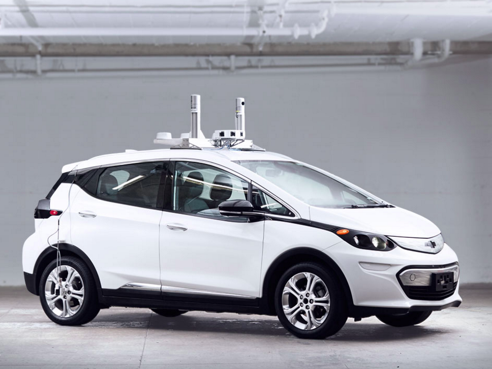 GM autonomous car built for Lyft