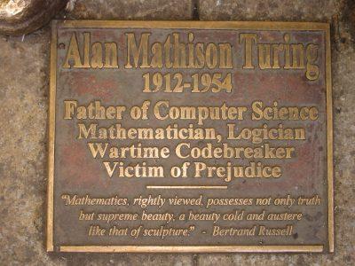 wikipedia alan turing tombstone snapmunk