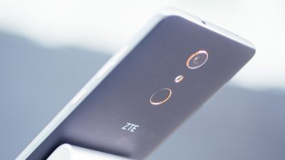 ZTE smartphone with crowdsourced features