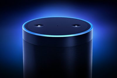 Amazon Alexa which can work with artificial intelligence bots