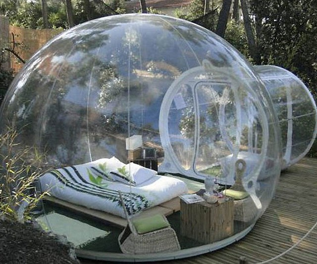 Amazon Bubble inflatable luxury tent