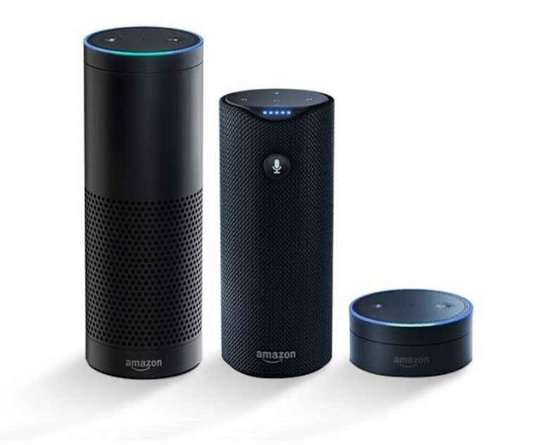 Amazon Alexa, Tap and Dot streaming Amazon music