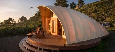 autonomous tent close snapmunk