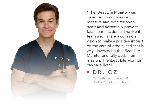 Dr. Oz's pitch for the iBeat wearable