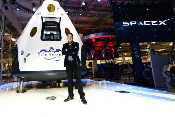 Elon Musk of SpaceX discusses colonizing mars