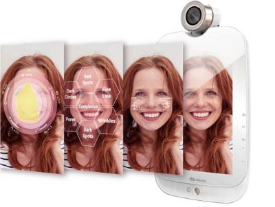 himirror smart mirror personlized skincare