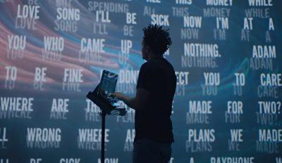 Wiz Khalifa playing music inspired by IBM Watson's artificial intelligence